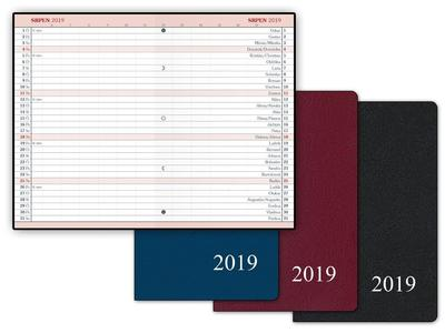 Diář 2019 M104/PVC měsíční