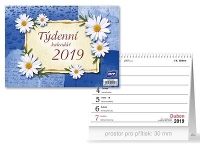 Týdenní - stolní kalendář 2019