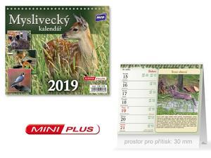 Obrázok Mini Myslivecký - stolní kalendář 2019