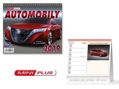 Mini Automobily - stolní kalendář 2019