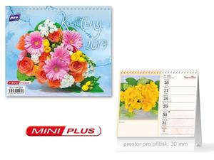 Obrázok Mini Květiny - stolní kalendář 2019