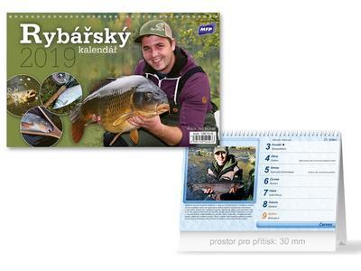 Rybářský - stolní kalendář 2019