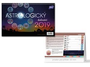 Obrázok Astrologický kalendář - stolní kalendář 2019
