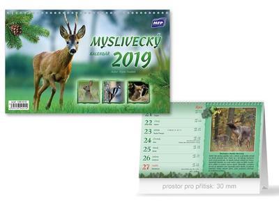Myslivecký - stolní kalendář 2019