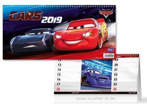 Obrázok DISNEY Cars (čtrnáctidenní) - stolní kalendář 2019