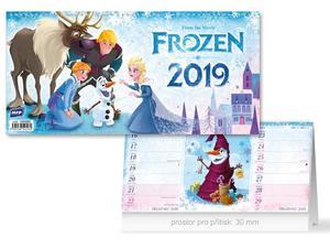 Obrázok DISNEY Frozen (čtrnáctidenní) - stolní kalendář 2019