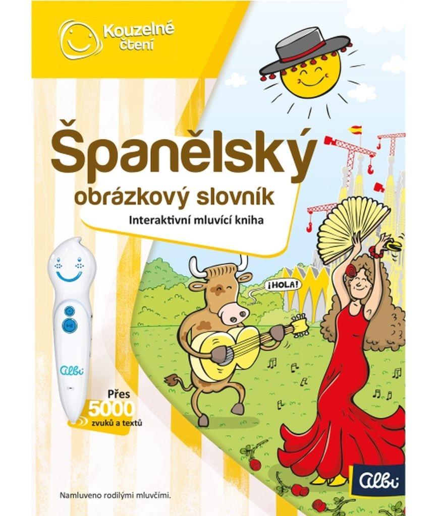Španělský obrázkový slovník - Martina Tihelková