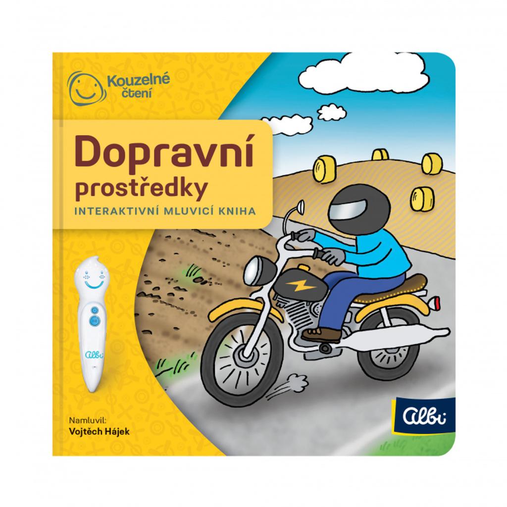 Minikniha Dopravní prostředky