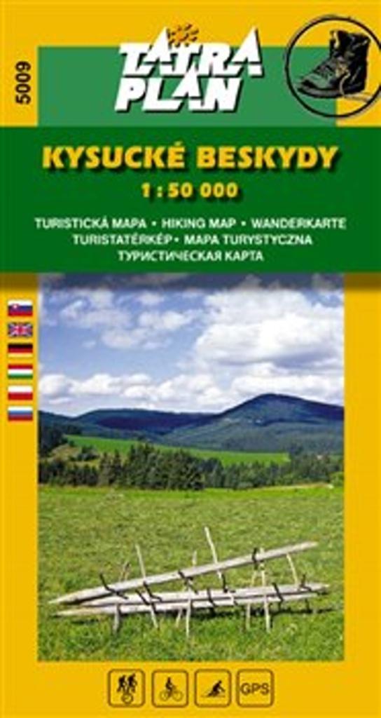 Kysucké beskydy 1:50 000
