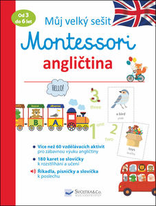 Obrázok Můj velký sešit Montessori angličtina