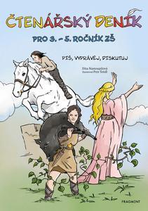 Obrázok Čtenářský deník pro 3. – 5. ročník ZŠ