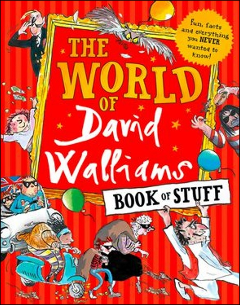The World of David Walliams Book of Stuff - David Walliams