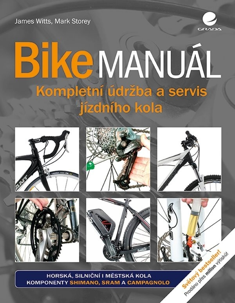 Bike manuál - James Witts, Mark Storey