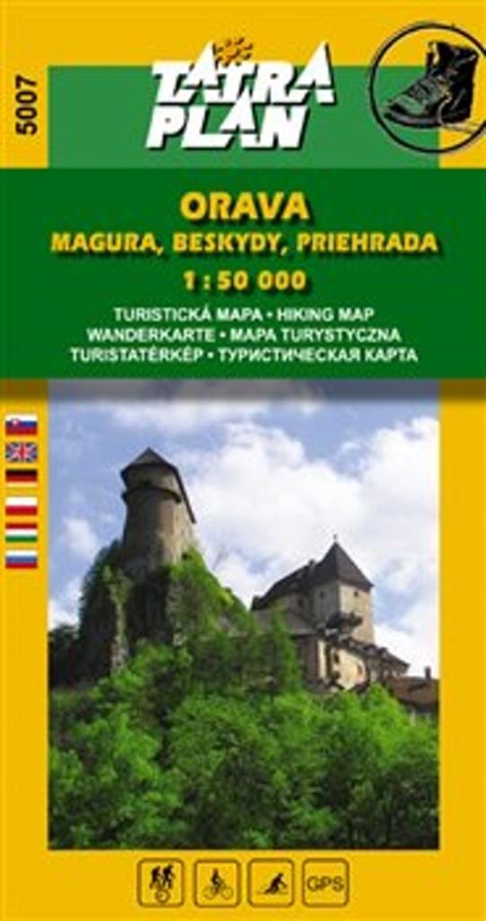 Orava Magura, Beskydy, Priehrada 1:50 000