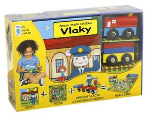 Obrázok BOX Vlaky Moje malá knížka