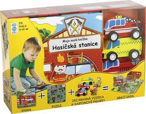 Obrázok BOX Hasičská stanice Moje malá knížka
