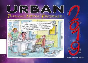 Obrázok Urban Pivrncovy trefný předpovědi 2019 - stolní kalendář