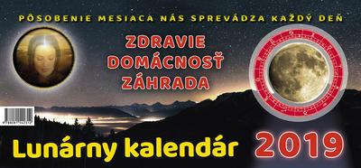 Obrázok Lunárny kalendár 2019 - stolný kalendár