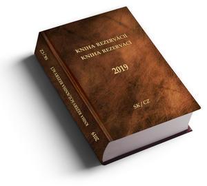 Obrázok Kniha rezervací Kniha rezervácií 2019