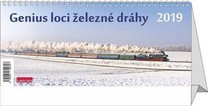 Obrázok Genius loci železné dráhy - stolní kalendář 2019