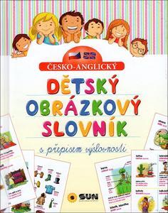 Obrázok Dětský obrázkový slovník s přepisem výslovnosti