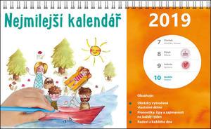 Obrázok Nejmilejší kalendář - stolní kalendář 2019