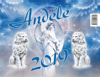Obrázok Andělé 2019 - stolní kalendář