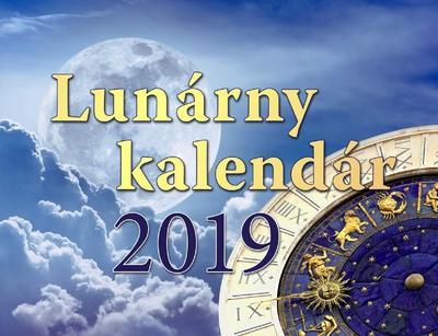 Obrázok Lunárny kalendár - stolný kalendár 2019