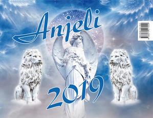 Obrázok Anjeli - stolný kalendár 2019