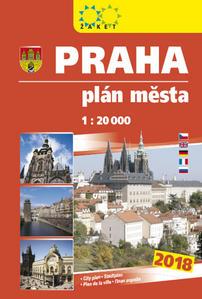 Obrázok Praha plán města 1:20 000