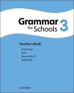 Obrázok Oxford Grammar for Schools 3 Teacher´s Book with Audio CD