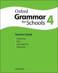 Obrázok Oxford Grammar for Schools 4 Teacher´s Book with Audio CD