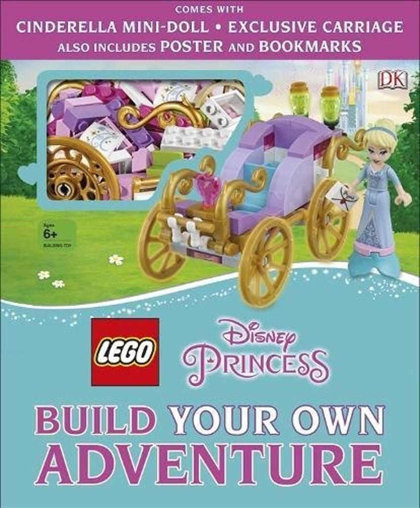 LEGO Disney Princess Build Your Own Adventure - Tim Johnson, Beth Davies, Julia March, DK