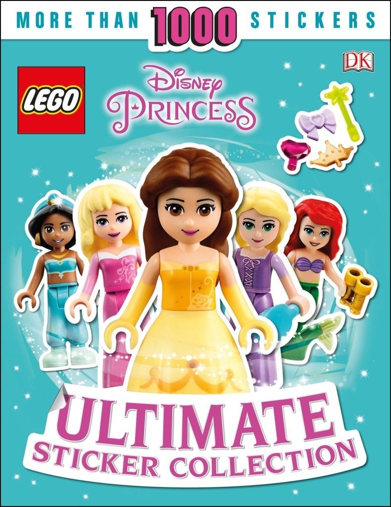 LEGO Disney Princess Ultimate Sticker Collection - DK, Rosie Peet