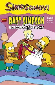 Obrázok Bart Simpson Nebezpečná hračka