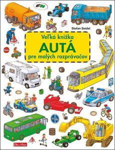 Obrázok Veľká knižka Autá pre malých rozprávačov