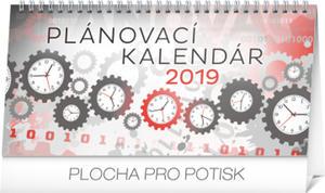 Obrázok Plánovací kalendár - stolový kalendár 2019