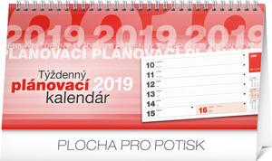 Obrázok Týždenný plánovací kalendár - stolový kalendár 2019