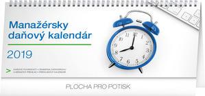 Obrázok Manažérsky daňový kalendár - stolový kalendár 2019