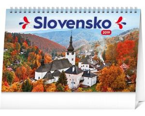 Obrázok Slovensko - stolový kalendár 2019
