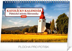Obrázok Katolícky kalendár - stolový kalendár 2019