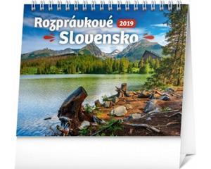 Obrázok Rozprávkové Slovensko - stolový kalendár 2019