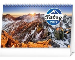 Obrázok Tatry - stolový kalendár 2019