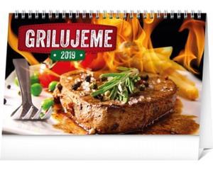 Obrázok Grilujeme - stolový kalendár 2019