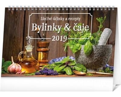 Obrázok Bylinky a čaje - stolový kalendár 2019