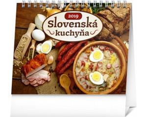 Obrázok Slovenská kuchyňa - stolový kalendár 2019