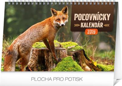 Obrázok Poľovnícky kalendár - stolový kalendár 2019