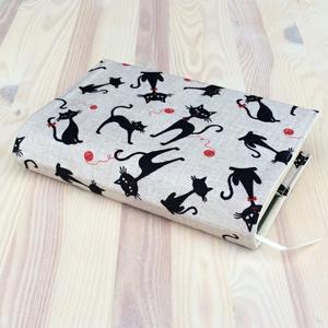 Obrázok Obal na knihu Kočky v béžové