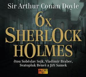 Obrázok 6x Sherlock Holmes