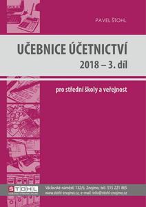Obrázok Učebnice Účetnictví 2018 - 3. díl